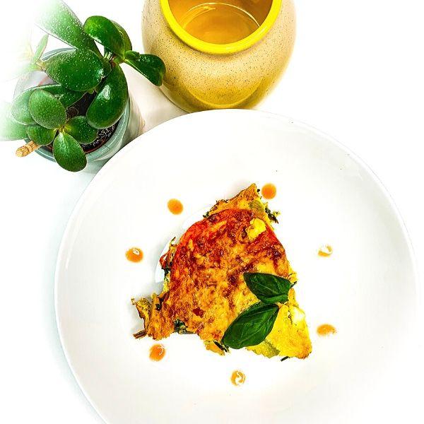 Chorizo & Spinach Frittata