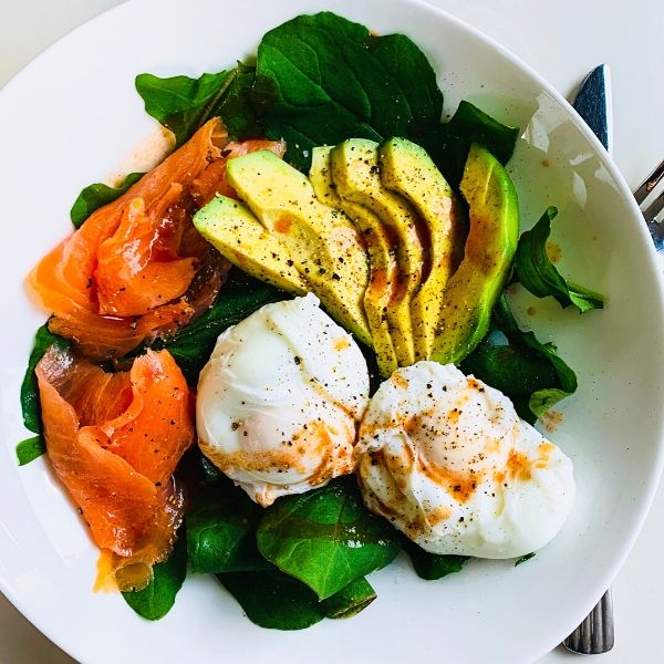 Poached Eggs, Avocado & Smoked Salmon