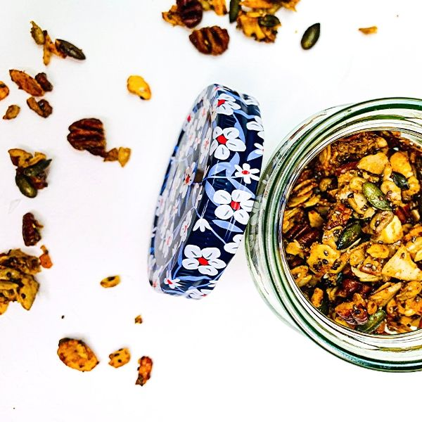 Lemon Nutty Granola