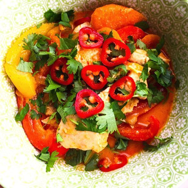 Veggie Thai Red Curry