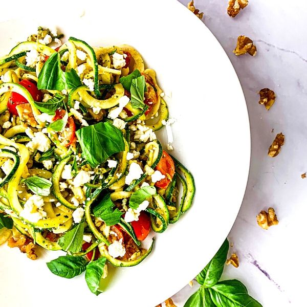 Pesto Courgetti