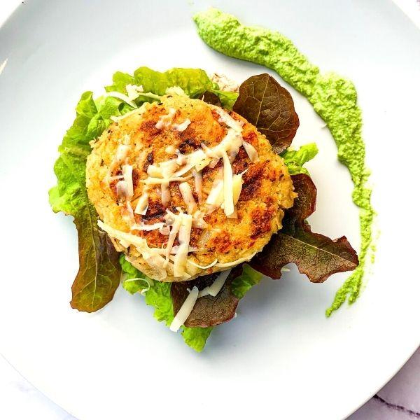 Quinoa & Halloumi Burger