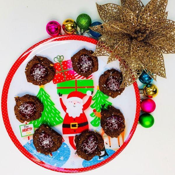 Santa's Chocolate Orange Cookie