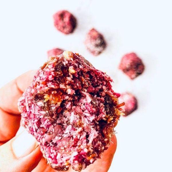 Raspberry Bliss Ball