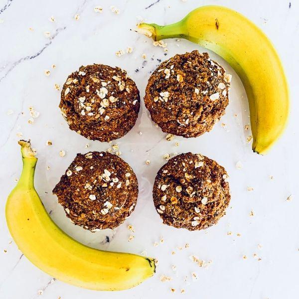 Banana & Cacao Muffins