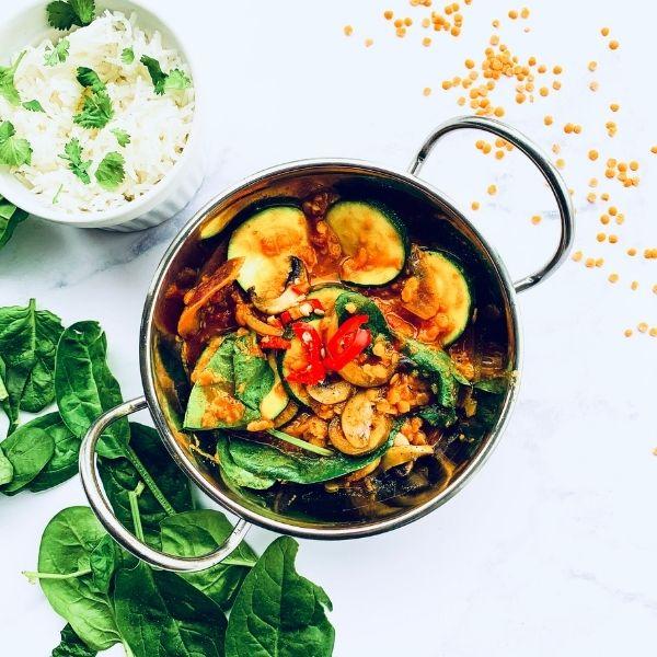 Vegetable Dansak