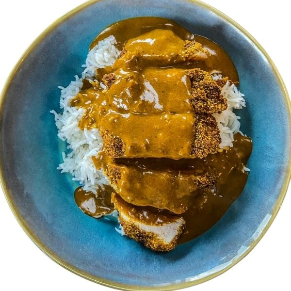 Low FODMAP Chicken Katsu Curry
