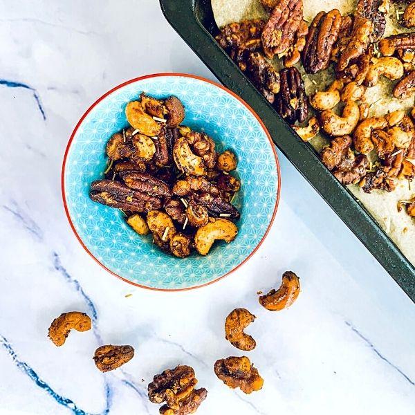 Sweet & Smokey Nuts