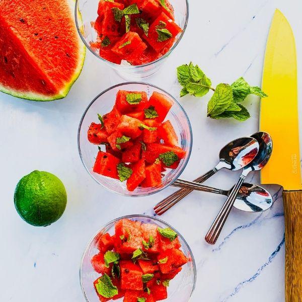 Mint & Watermelon Cups